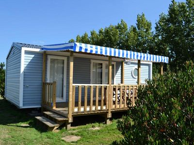 Photo for Camping Le Village De La Mer **** - Mobilhome for 5 People