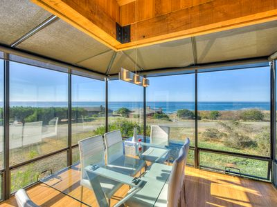 Photo for Mid-century home w/ ocean views, deck & hot tub - walk to beaches & shared pool!
