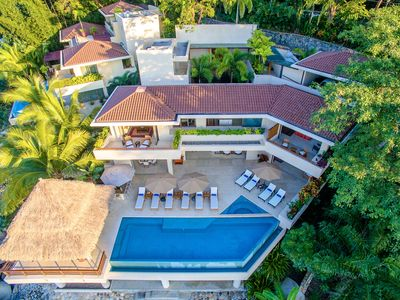 Photo for OCEAN FRONT ESTATE OCEAN VIEW, PRIVATE POOL, JACUZZI STAFF, ACCES TO BEACH CLUB