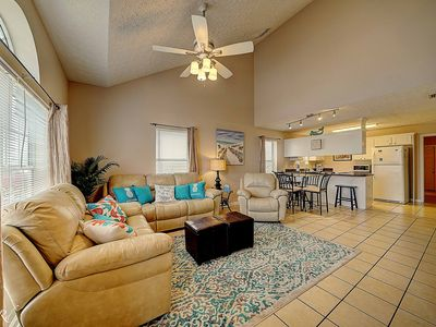 Photo for Spacious 1400 Sq Ft Townhouse located in quiet subdivision 1/2 mile to beach""