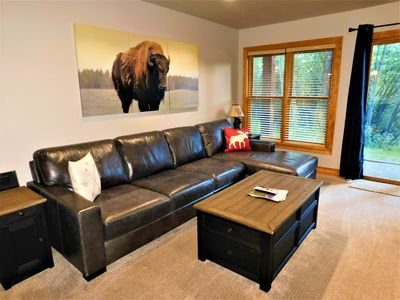 Photo for Clean and Bright Private Condo by the Teton Creek!