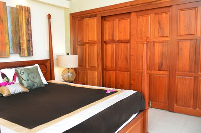 Master Bedroom closed off with sliding doors