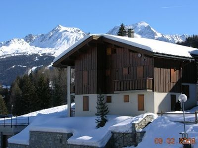 Photo for Les coches Domaine de la plagne appt 6p Rental from Sunday to Sunday