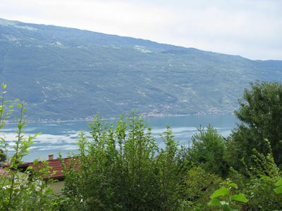Photo for Renovated bungalow with stunning views of Lake Garda