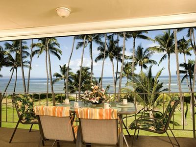Photo for UP TO 25% OFF!! Two-Bedroom Ocean Front Condo in Central Kihei