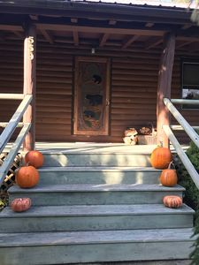 Halloween at the cabin