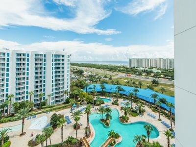 Photo for Palms Resort 21113 Jr. 2BR/2BA☀Jul 18 to 20 $915 Total!☀Lagoon Pool - Fun Pass!