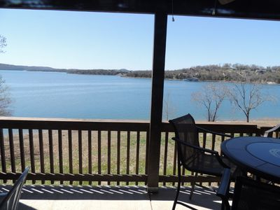 "Photo for Lake Lover's Dream ""Enough Said "" New Fall & Winter LOW RATES"