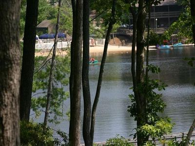Photo for Lux 5500 Sq/Ft Lake House w Game Rm/trail access Big Canoe Swm Club/Ftness Cntr