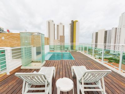 Photo for Best cost-benefit apartment with rooftop pool
