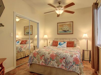 Photo for 1st Floor Condo Walk to Beach Winter Texans Welcome $1500 Season Rate