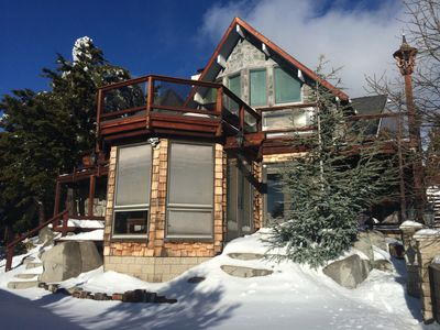 Photo for Gorgeous House & views, sledding hills, game room, close to skiing & Sky Park