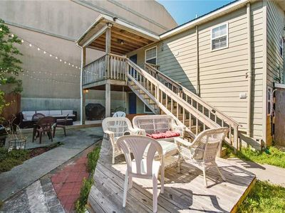 Photo for Sunny Side Down | Steps from Dining & Shopping on Center St. | Nice Outdoor Area | Beachy Decor
