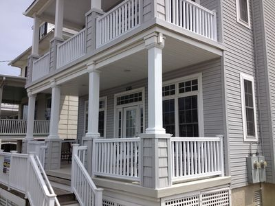 Quite residential neighborhood. Enjoy the covered porch for reading or relaxing.