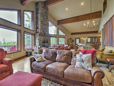 Photo for Donnelly Cabin w/Lake & Mtn View + Private Hot Tub