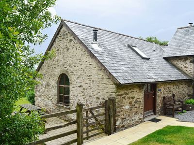 Photo for Delightful spacious barn conversion in Exmoor National Park. Pet-friendly.