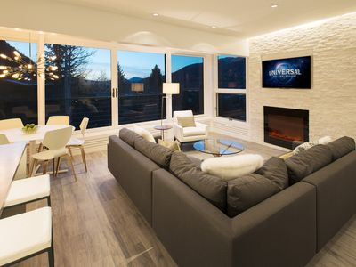 Photo for Ski in/out contemporary condo w/stunning views right in the heart of town!