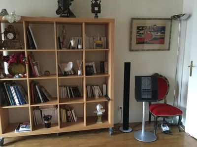 Photo for Beautiful three rooms in Montmartre