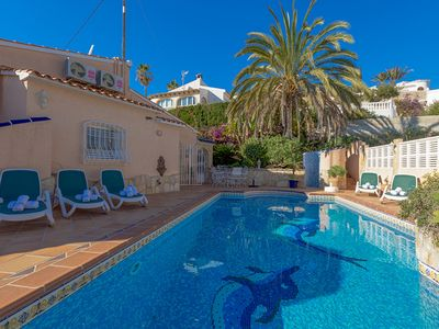 Photo for AMBIENTE, villa for 10 guests with swimming pool in Calpe, free wifi