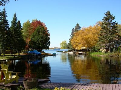 Photo for Cedar Cove - Charming with Modern Amenities, 2-Bdrm + bunkie, Waterfront, Flexible Rentals