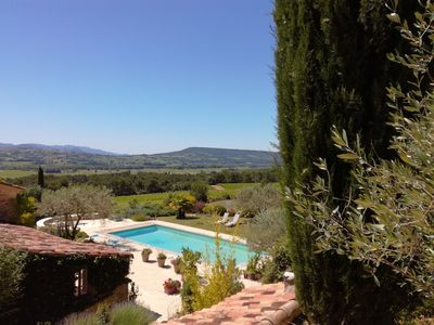 Photo for DROME-LIMIT VAUCLUSE-GÎTE WITH SWIMMING POOL - PANORAMIC VIEW