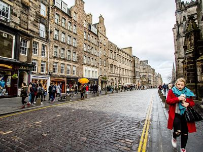 Photo for Royal Mile, 357 High Street, Old Town. City Centre. Parking.