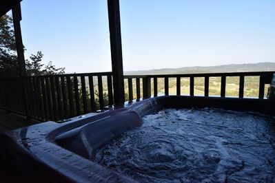 Outdoor Hot Tub - Soak in the view