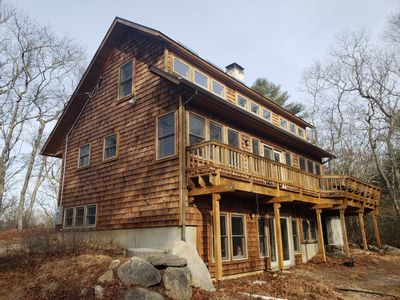 Photo for Secluded Cedar Cottage in the Matunuck Hills - just minutes from local beaches!