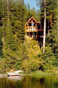 Photo for Cabin Rental on Spoon Lake near West Glacier