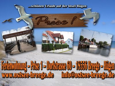 Photo for private apartment in the seaside Breege / Rügen on Breeger Bodden