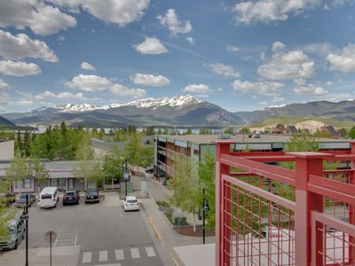 Photo for Downtown condo w/views, shared hot tub & 2 heated parking spaces!