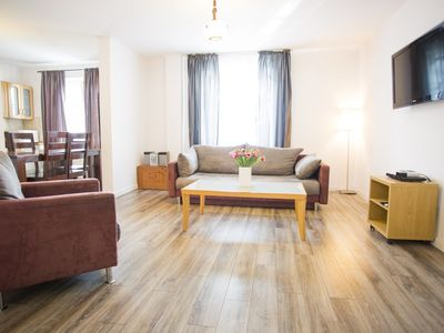 Photo for Stefan Bathory  apartment in Nowe Miasto with WiFi & air conditioning.
