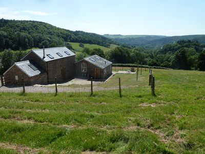 Photo for Detached barn, with breathtaking views across the Wye Valley