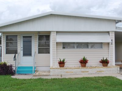 Photo for Waterfront property, 2 Bedroom 2 bath completely furnished on the canal.