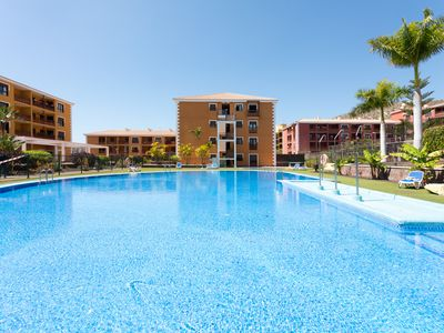 Photo for Beautiful studio with pool and paddle court, very close to the sea.