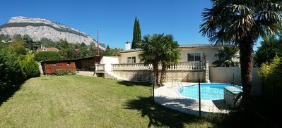 """Photo for Villa 130m2 """"small pool"""" Large Terrace + pool above ground"""