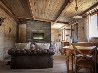 """Photo for """"Cowboy Cabin"""" and SWIMMING POOL in a real ranch"""