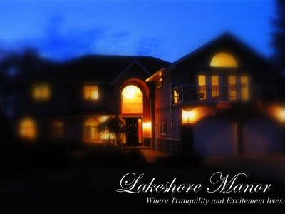 Photo for Lakefront Luxury! 8 Bedrooms, Hot Tub & Games Room! SPRINGBREAK SPECIAL MAR15-24
