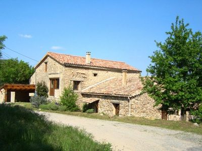 Photo for Beautiful restored stone holiday home in Silhac, Ardeche, Southern France