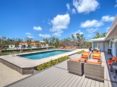 Photo for Sombrero Beach Remodeled Pool Home with Dockage