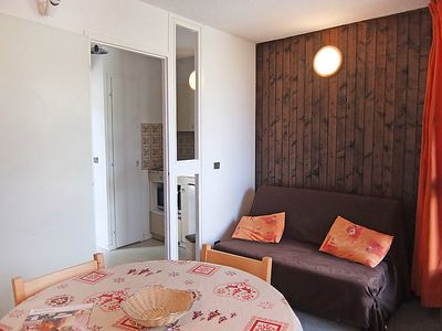 Photo for One bedroom Apartment, sleeps 3 in Les Bruyères with WiFi