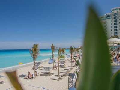 Photo for STUDIO 4 AT THE BEST BEACH OF MEXICO, INSIDE OLEO CANCUN HOTEL