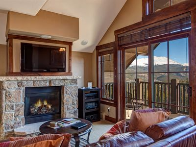 Photo for Ski In/Out Crystal Peak Lodge Corner Unit - 2 King Beds, Views Over Breck