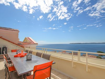Photo for 3 Bedrooms flat with amazing sea view