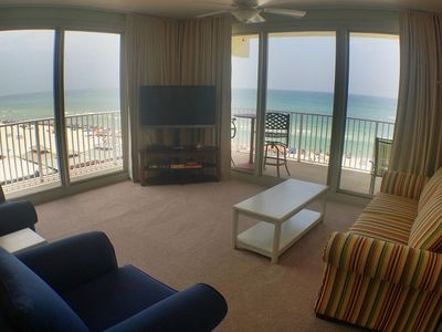 Photo for 5th Floor True 3 Bedroom, 3 Bath, Beach Balcony. Amenity Fees included in quote.