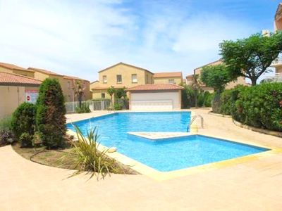 Photo for Nice villa with pool access