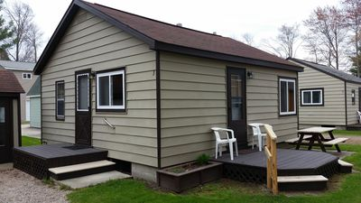 Photo for Houghton Lake - Lakefront Cabins (4 cabins sleep up to 24 people total)