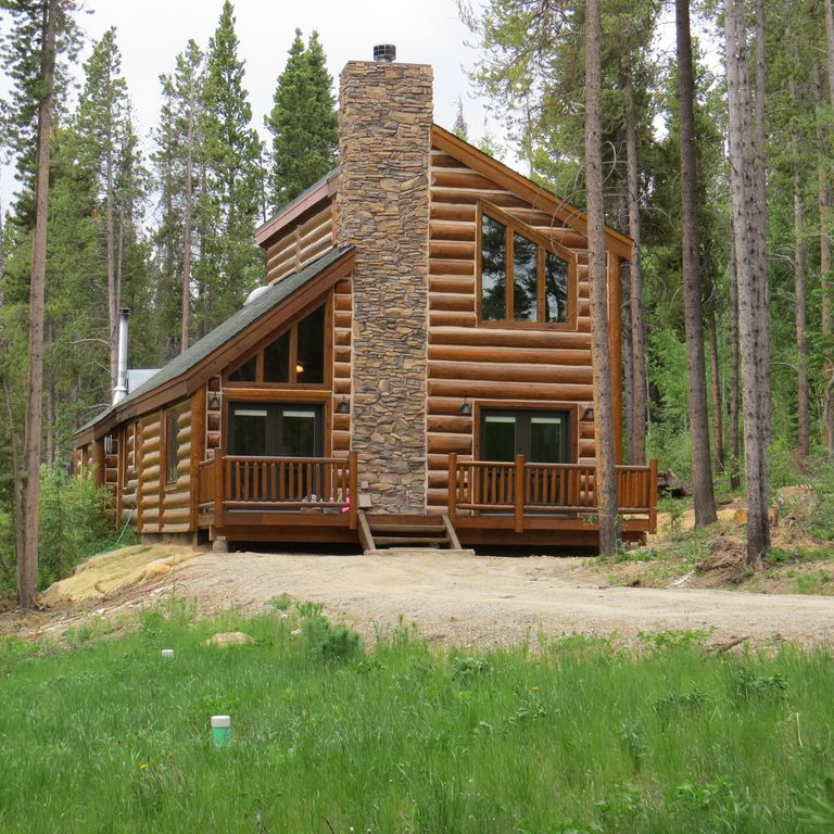 Log Home In The Woods ~ Private log house in the woods vrbo