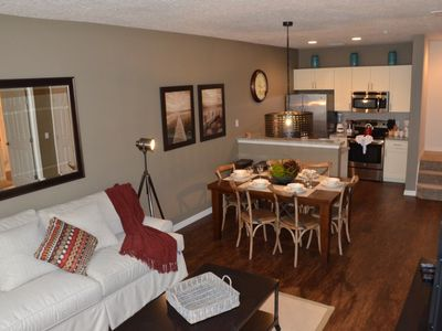 Photo for Modern Bargains - Lucaya Village - Beautiful Cozy 3 Beds 2 Baths Townhome - 3 Miles To Disney