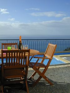 Photo for Luxury Villa With Private Heated Pool, Games  Room, 160 degrees sea view, WiFi